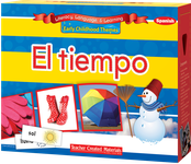 Early Childhood Themes: El tiempo (Weather) Kit (Spanish Version)