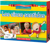 Early Childhood Themes: Los cinco sentidos (Five Senses) Kit (Spanish Version)
