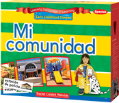 Early Childhood Themes: Mi comunidad (My Community) Kit (Spanish Version)