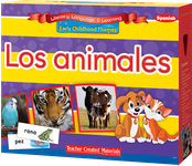 Early Childhood Themes: Los animales (Animals) Kit (Spanish Version)