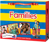 Early Childhood Themes: Families Kit