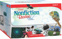 TIME® Nonfiction Readers: Grade 8 Kit