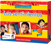 Early Childhood Themes: Los sentimientos (Feelings) Kit (Spanish Version)