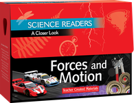 Science Readers: A Closer Look: Forces and Motion Kit