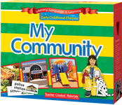 Early Childhood Themes: My Community Kit