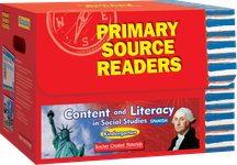 Primary Source Readers Content and Literacy: Kindergarten Kit (Spanish Version)