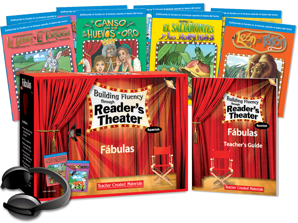 Building Fluency through Reader's Theater: Fábulas (Fables) Kit (Spanish Version)