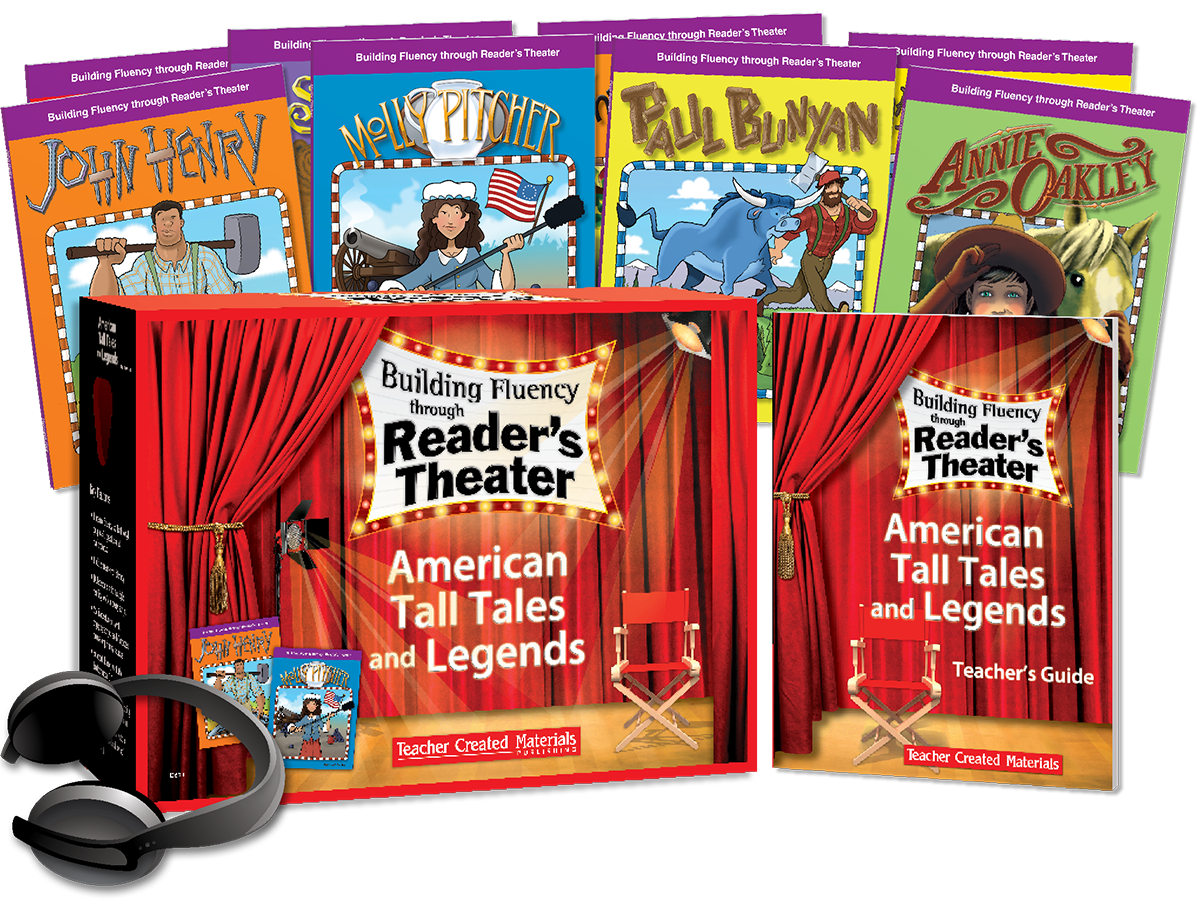 Building Fluency through Reader's Theater: American Tall Tales and Legends Kit