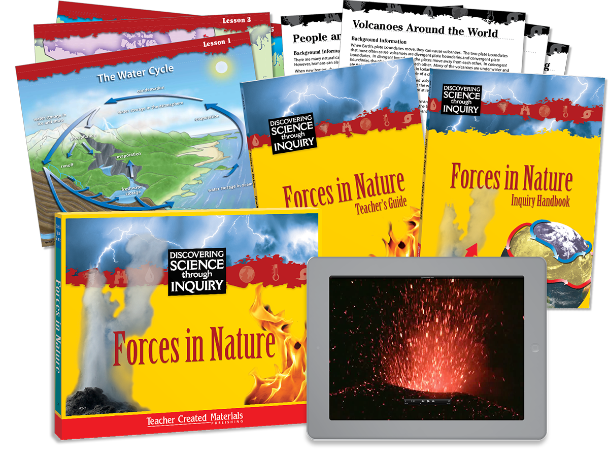 Discovering Science Through Inquiry: Forces in Nature Kit