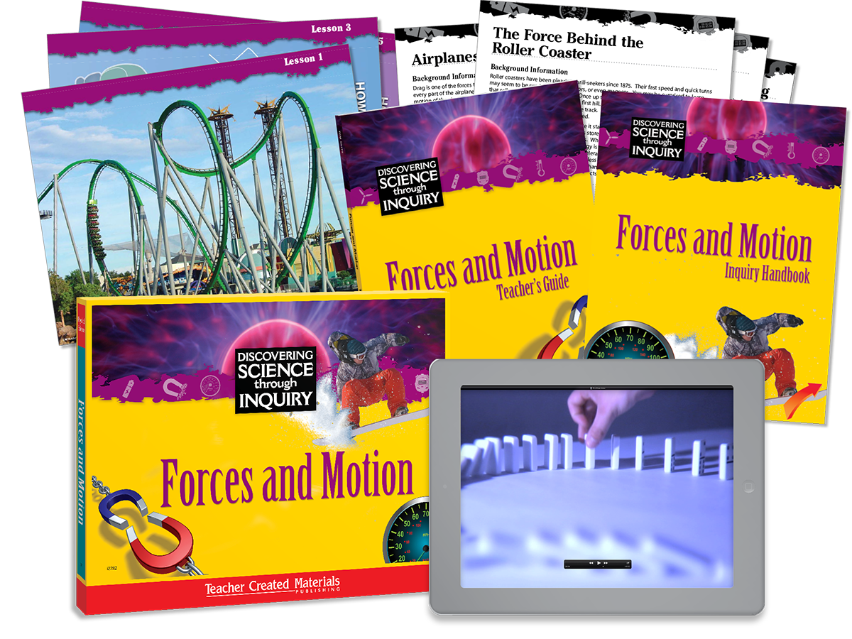 Discovering Science Through Inquiry: Forces and Motion Kit