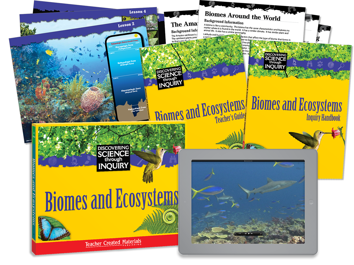 Discovering Science Through Inquiry: Biomes and Ecosystems Kit