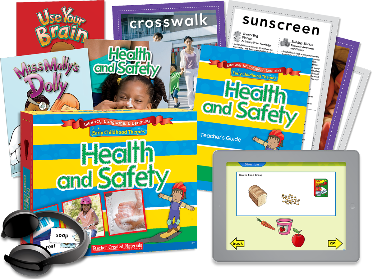 Early Childhood Themes: Health and Safety Kit