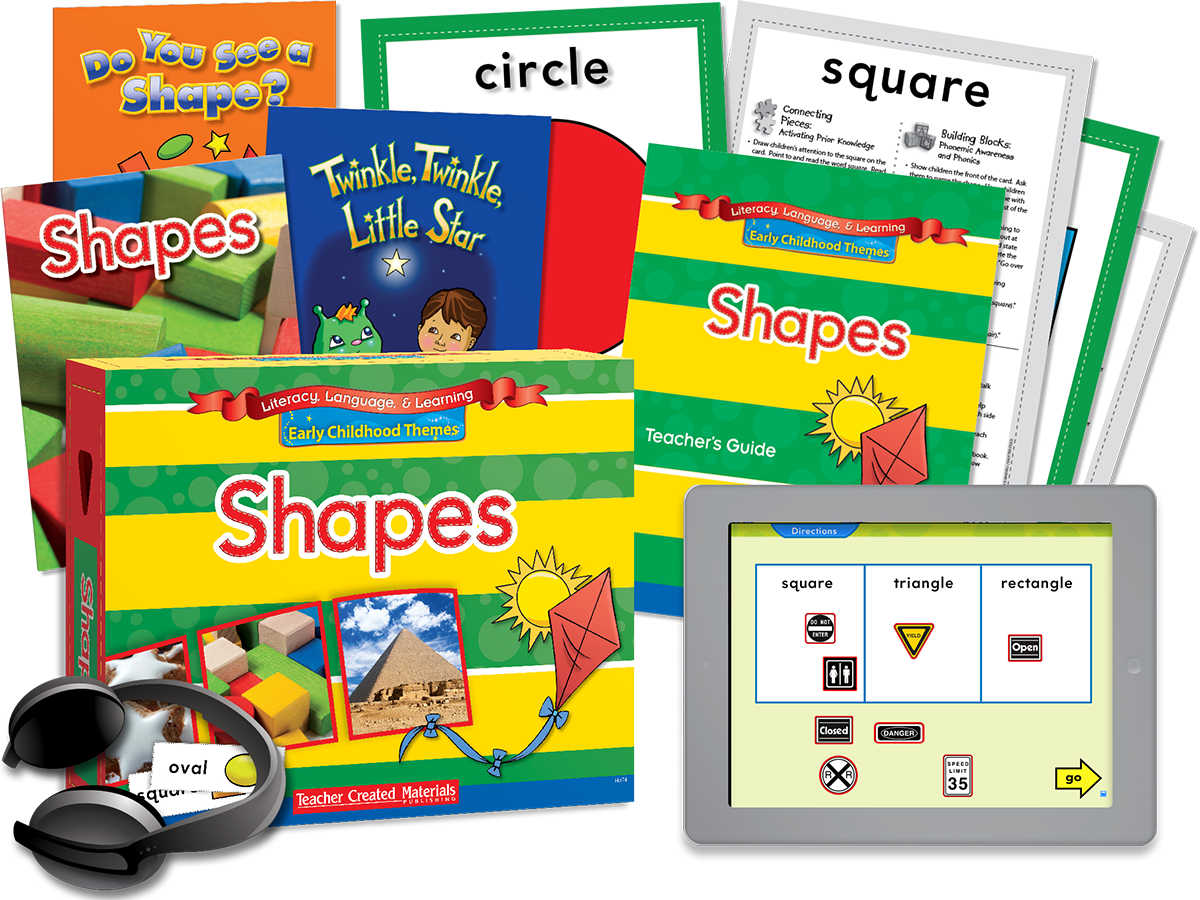 Early Childhood Themes: Shapes Kit