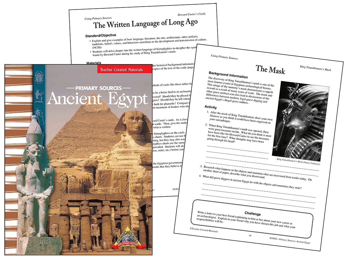 Primary Sources: Ancient Egypt Kit