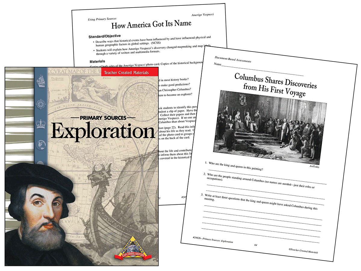 Primary Sources: Exploration Kit