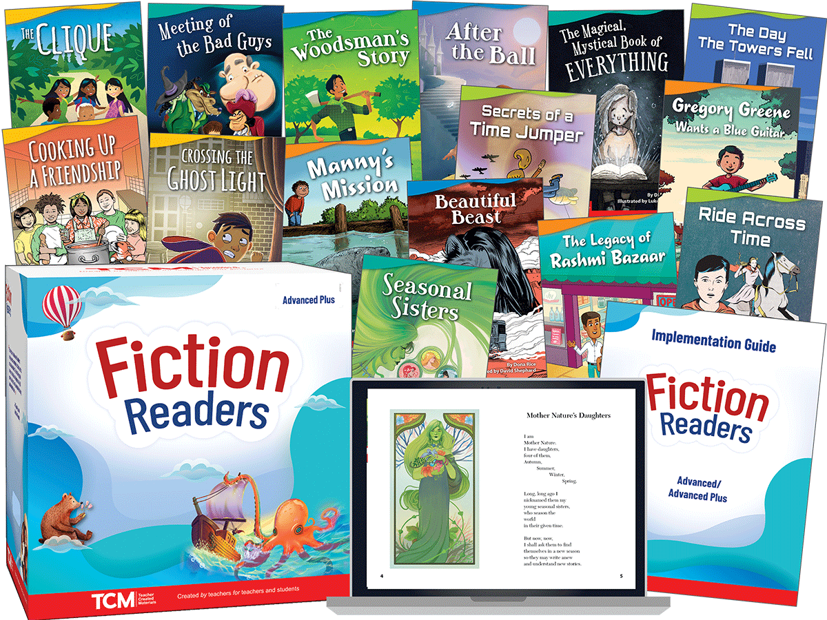 Fiction Readers: Advanced Plus: Complete Kit