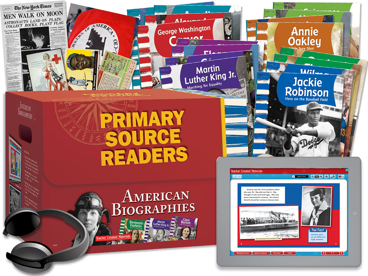 Primary Source Readers: American Biographies Kit