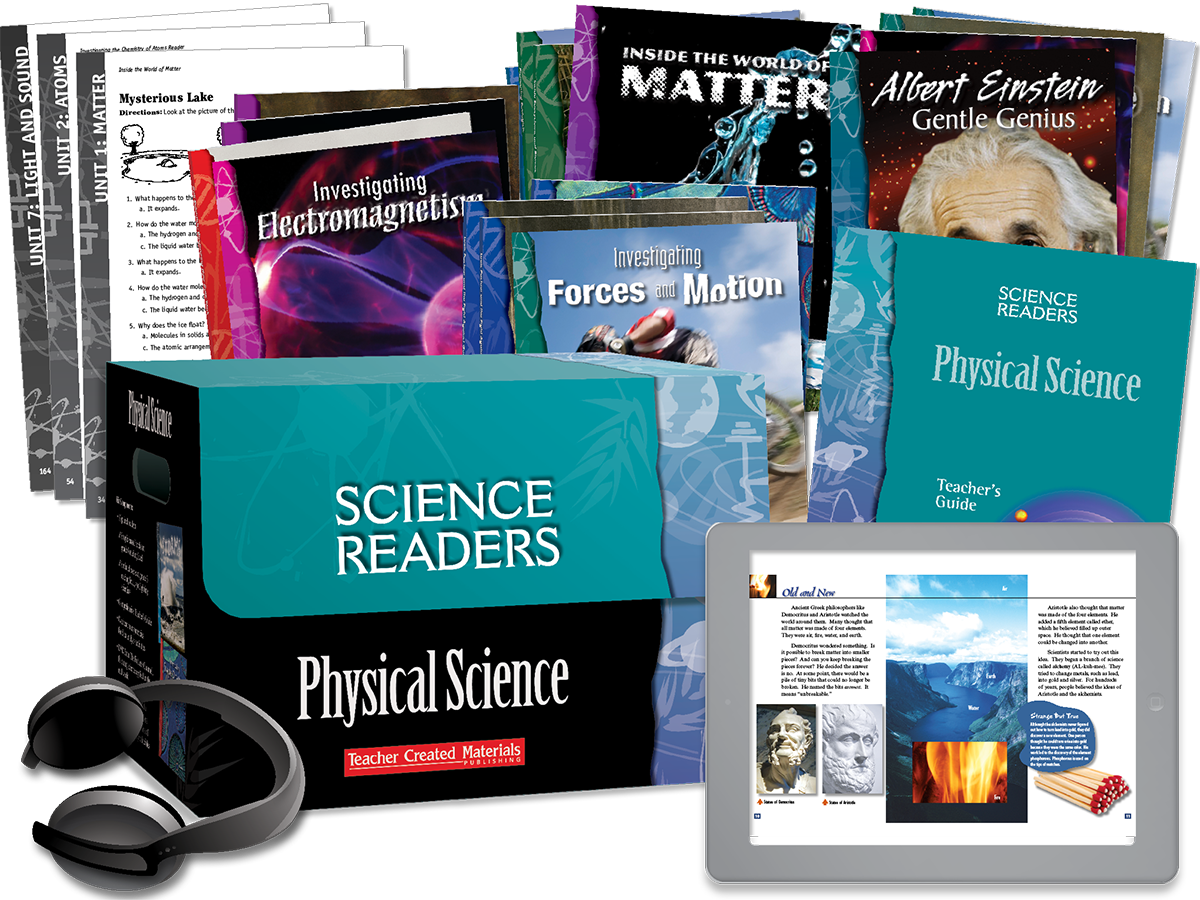Science Readers: Physical Science Kit