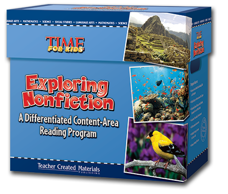 Exploring Nonfiction: A Differentiated Content-Area  Reading Program