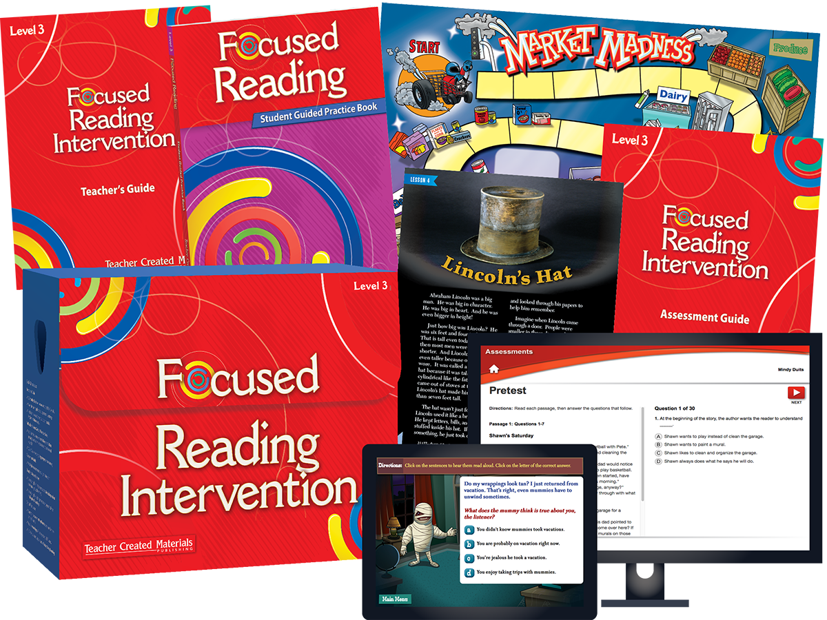 Focused Reading Intervention