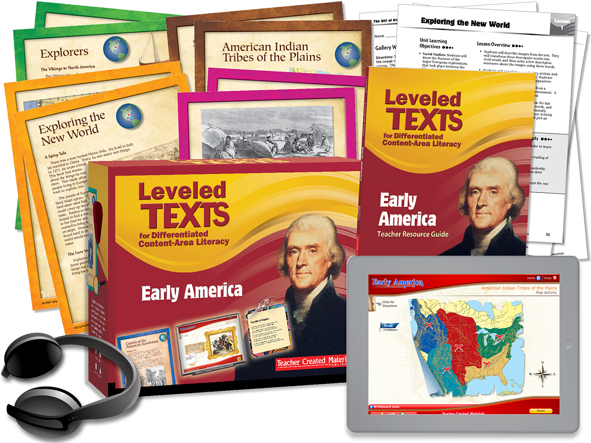 Leveled Texts for Differentiated Content-Area Literacy